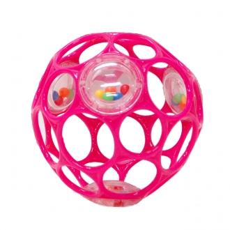 オーボール ラトル ピンク