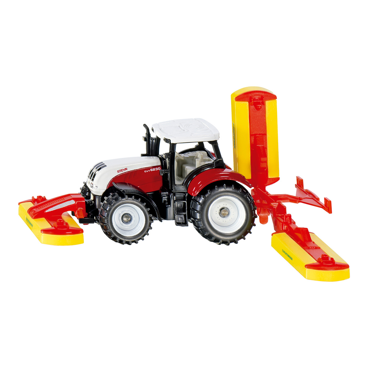 Steyr with Pottinger mower combination(ジク・SIKU)